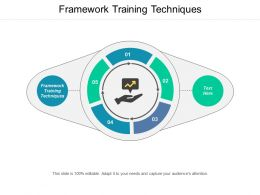 Framework Training Techniques Ppt Powerpoint Presentation Styles Inspiration Cpb