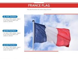 France Flag Powerpoint Presentation PPT Template