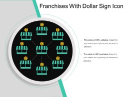 Franchises With Dollar Sign Icon