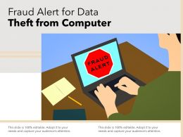 Fraud Alert For Data Theft From Computer