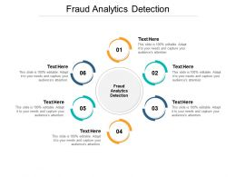 Fraud Analytics Detection Ppt Powerpoint Presentation Inspiration Outfit Cpb