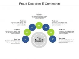 Fraud Detection E Commerce Ppt Powerpoint Presentation Pictures Cpb