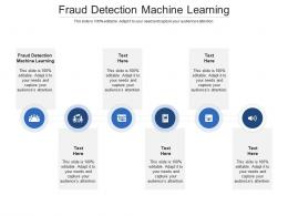Fraud Detection Machine Learning Ppt Powerpoint Presentation Infographics Diagrams Cpb