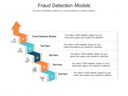 Fraud Detection Models Ppt Powerpoint Presentation Ideas Icons Cpb