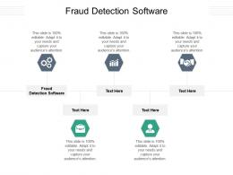 Fraud Detection Software Ppt Powerpoint Presentation Background Images Cpb