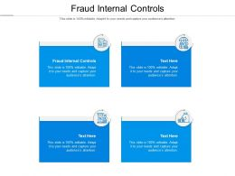 Fraud Internal Controls Ppt Powerpoint Presentation Outline Summary Cpb