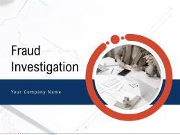 Fraud Investigation Powerpoint Presentation Slides