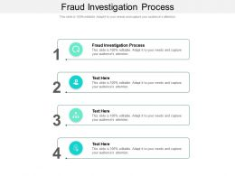 Fraud Investigation Process Ppt Powerpoint Presentation Diagrams Cpb