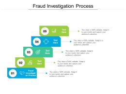 Fraud Investigation Process Ppt Powerpoint Presentation Icon Example Topics Cpb