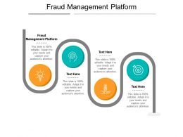 Fraud Management Platform Ppt Powerpoint Presentation Icon Vector Cpb