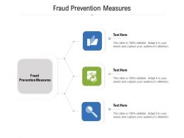 Fraud Prevention Measures Ppt Powerpoint Presentation Icon Slide Portrait Cpb