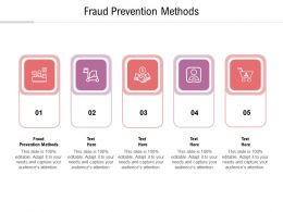 Fraud Prevention Methods Ppt Powerpoint Presentation Layouts Objects Cpb