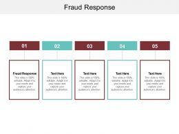 Fraud Response Ppt Powerpoint Presentation Infographics Graphics Download Cpb