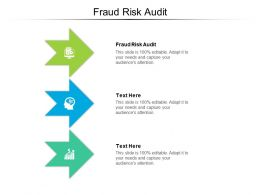 Fraud Risk Audit Ppt Powerpoint Presentation Deck Cpb