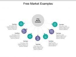 Free Market Examples Ppt Powerpoint Presentation Outline Model Cpb