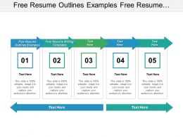 Free Resume Outlines Examples Free Resume Writing Templates Cpb