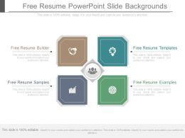 Free Resume Powerpoint Slide Backgrounds