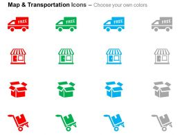 free_shipping_house_product_packing_shipping_cart_ppt_icons_graphics_Slide02
