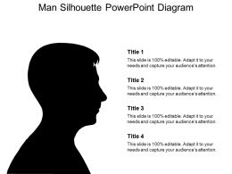 Free Silhouette Man Powerpoint Template