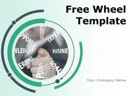 Free Wheel Template Process Business Growth Target Achievement Assurance Strategy