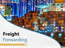 Freight Forwarding Process Flowchart Transportation Documents Rearrangement International