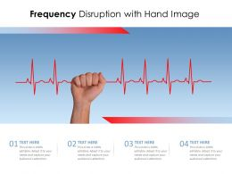 Frequency Disruption With Hand Image