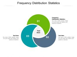 Frequency Distribution Statistics Ppt Powerpoint Presentation Outline Maker Cpb