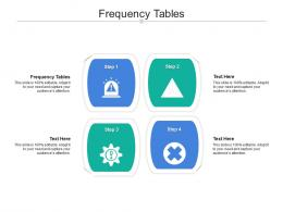 Frequency Tables Ppt Powerpoint Presentation Slides Background Designs Cpb