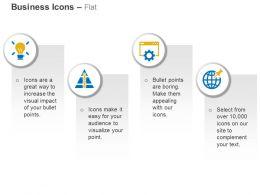 fresh_idea_link_pyramid_website_optimization_geo_targeting_ppt_icons_graphics_Slide01