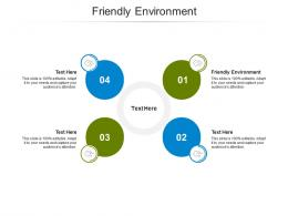 Friendly Environment Ppt Powerpoint Presentation Outline Visuals Cpb