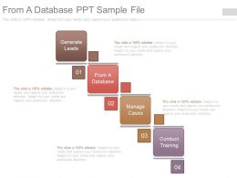 From A Database Ppt Sample File