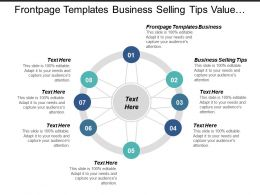 Frontpage Templates Business Business Selling Tips Value Proposition Cpb