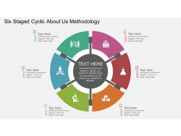 fu_six_staged_cyclic_about_us_methodology_flat_powerpoint_design_Slide01