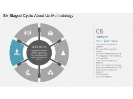 Fu Six Staged Cyclic About Us Methodology Flat Powerpoint Design