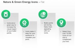 Fuel Cane Flower Global Green Energy Environment Ppt Icons Graphics