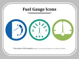 Fuel Gauge Icons