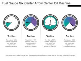 Fuel Gauge Six Center Arrow Center Oil Machine 1