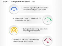Fuel Meter Speedometer Location Pointer Ppt Icons Graphics