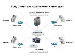 Fully Centralized WAN Network Architecture