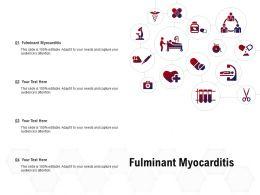 Fulminant Myocarditis Ppt Powerpoint Presentation Professional Shapes