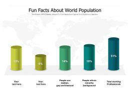 Fun Facts About World Population