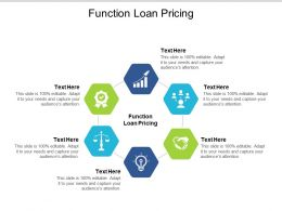 Function Loan Pricing Ppt Powerpoint Presentation Model Design Inspiration Cpb