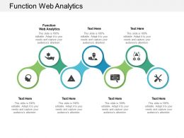 Function Web Analytics Ppt Powerpoint Presentation Pictures Graphic Images Cpb