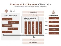 Functional Architecture Of Data Lake