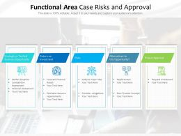 Functional Area Case Risks And Approval
