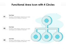 Functional Area Icon With 4 Circles