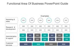 Functional Area Of Business Powerpoint Guide