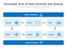 Functional Area Of Data Scientist And Analyst