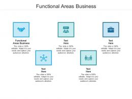 Functional Areas Business Ppt Powerpoint Presentation Portfolio Themes Cpb