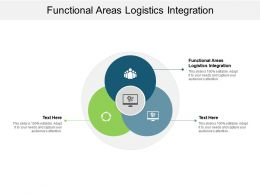 Functional Areas Logistics Integration Ppt Powerpoint File Design Ideas Cpb